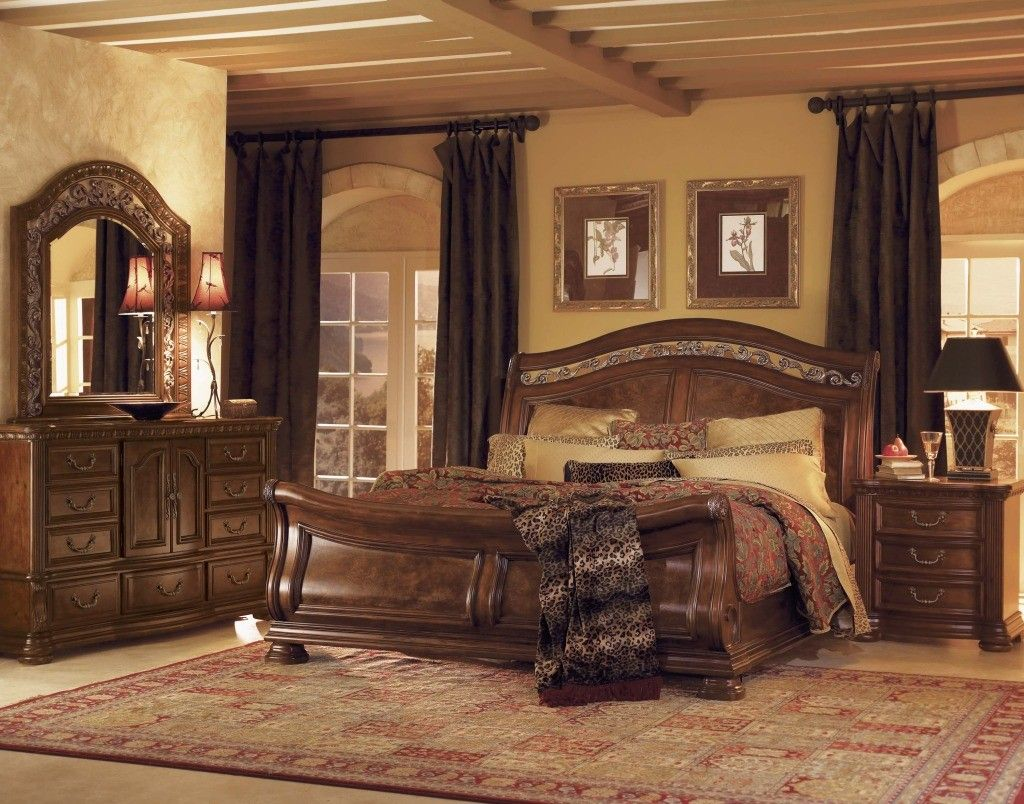 King Bedroom Furniture Sets Sale Sleigh Bedroom Set Bedroom