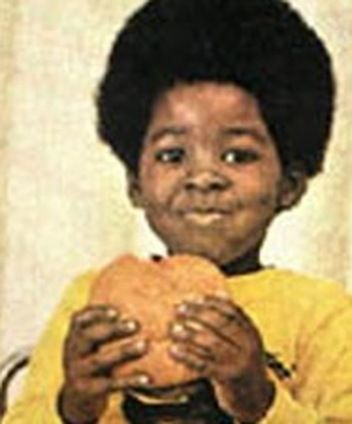 Remembering how jealous I was of this little rugrat and his gigantic Whopper.  Rodney Allen Rippy