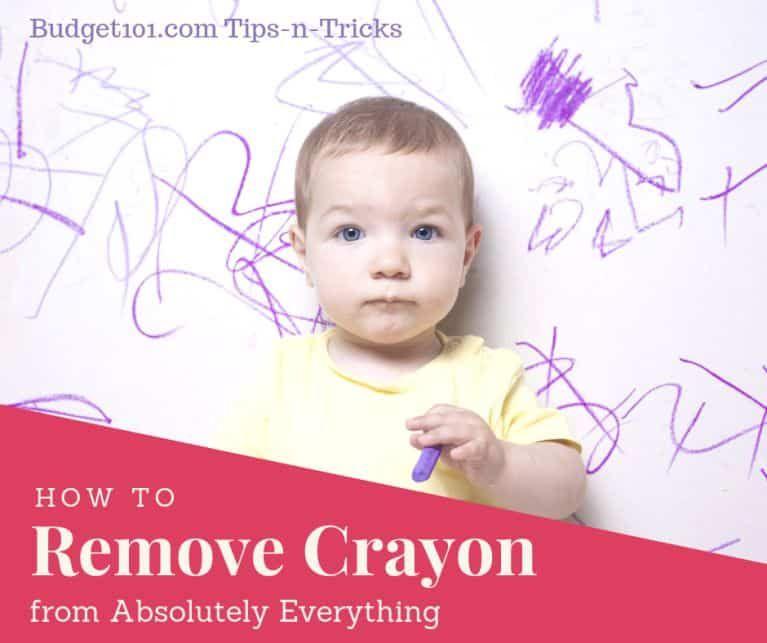 How to remove crayon marks easily erase crayon crayon