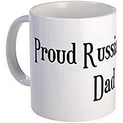 Russian Blue Cat Mug - Proud Russian Blue Dad Mug - Unique Coffee Mug, Coffee Cup