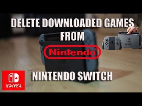 So You 39 Ve Run Out Of Space On Your Nintendo Switch No Problem We Show You How To Delete E Shop Titles To Free Up Me Wifi Network Nintendo Nintendo Switch