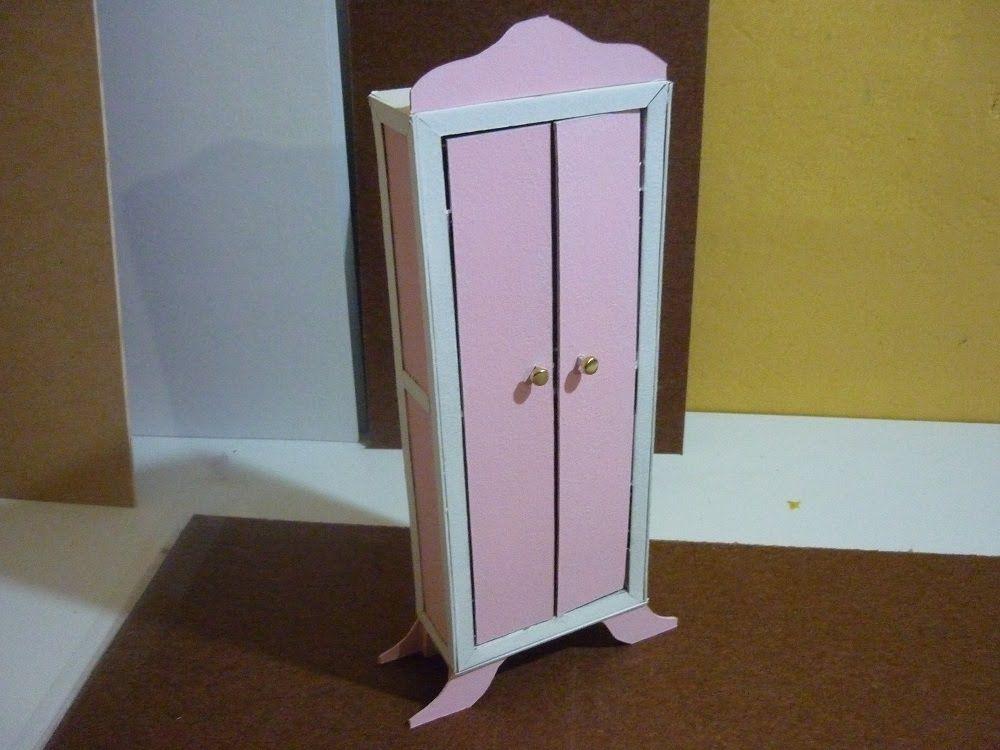 Como Hacer Un Mueble Para Muñecas De Papel Cascaron Parte 1 Muebles Para Muñecas Como Hacer Un Mueble Muebles De Cartón