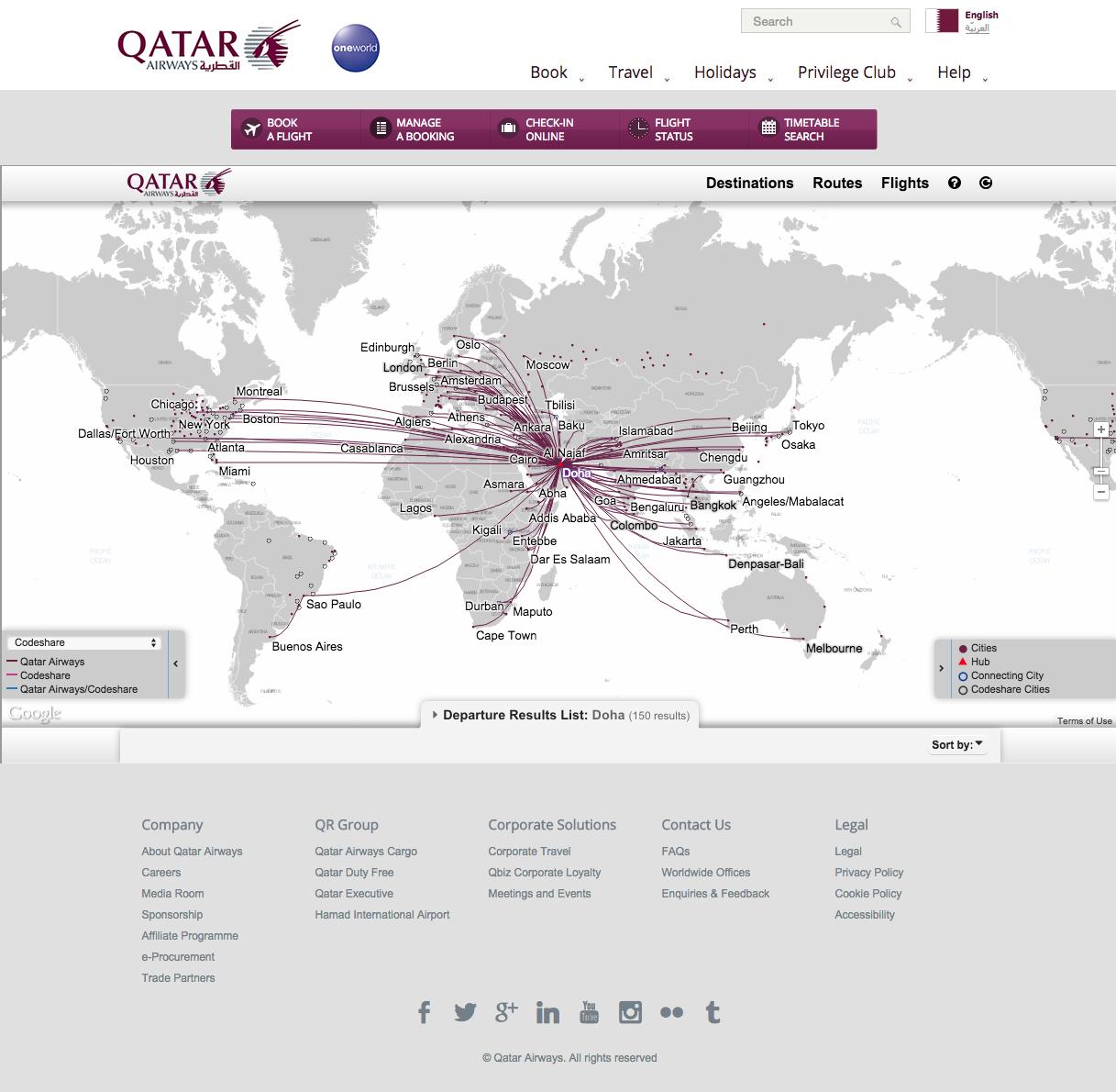 http://www.qatarairways.com/global/en/route-map.page   Destination ...