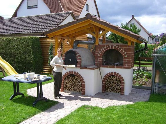 Holzbackofen Outdoor Cooking Spaces Outdoor Oven