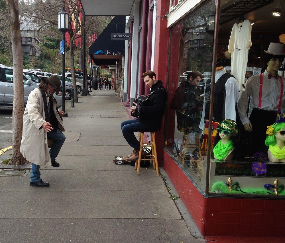 Image result for ashland oregon street musicians