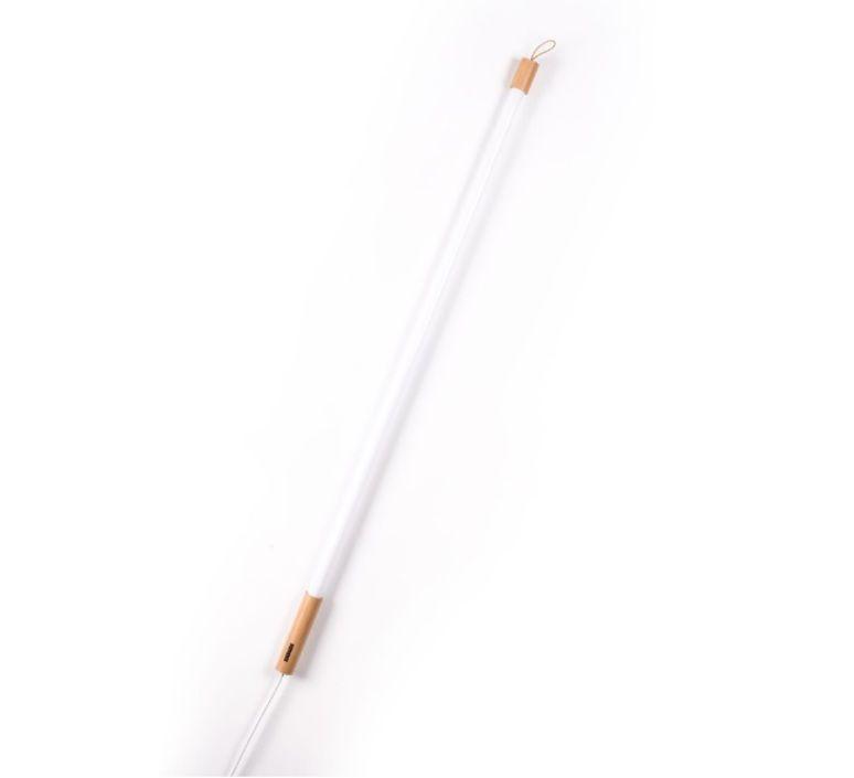 Suspension, Neon, Linea, blanc, bois, L140cm - Seletti Sconces