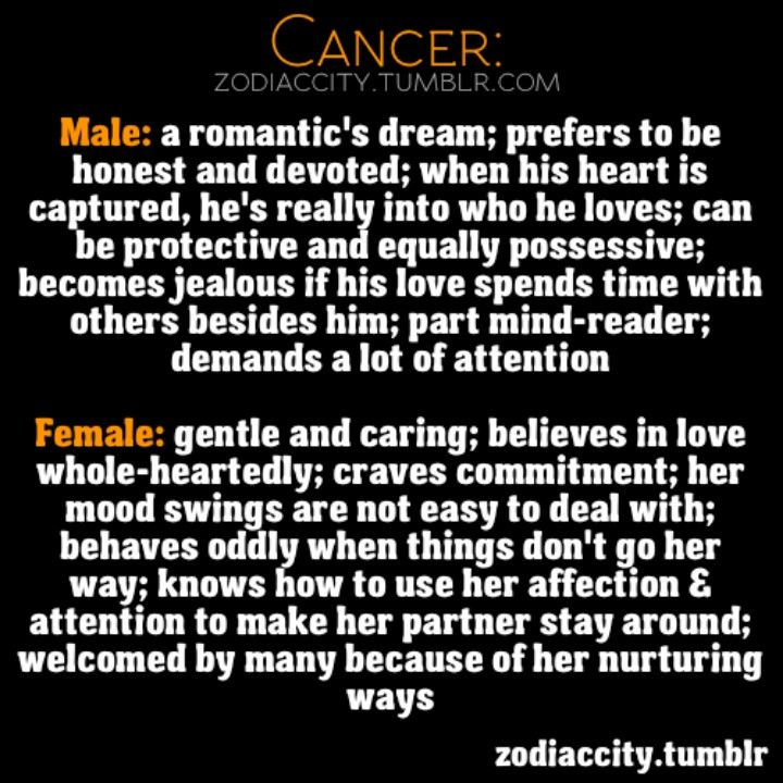 ♋ Cancer personality: Loving! ♋