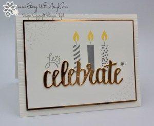 Stampin' Up! Amazing You Birthday