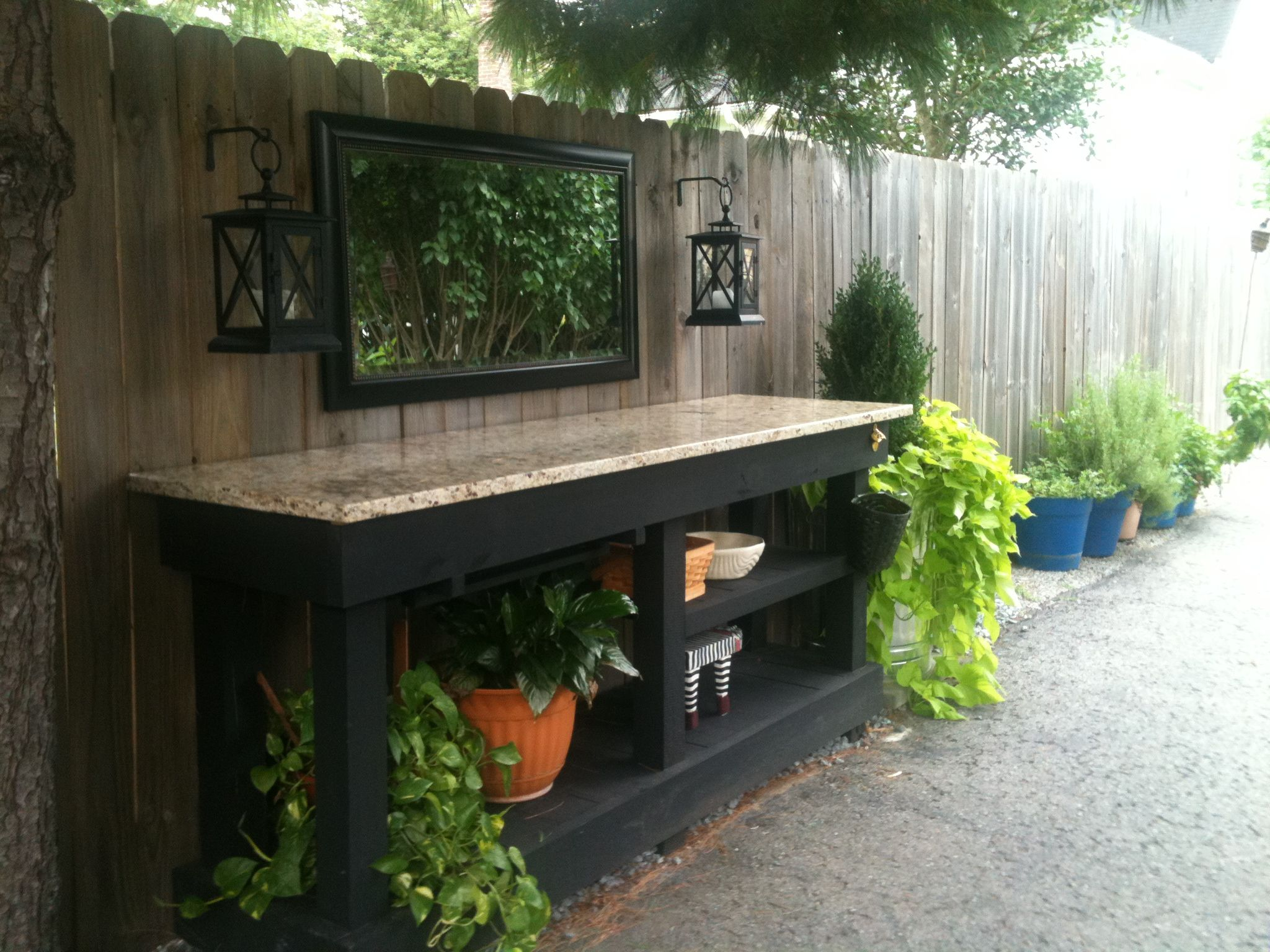 Potting Bench Love To Garden Pinterest