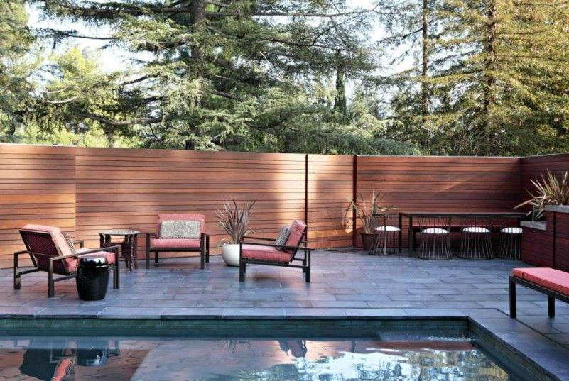 Pool Privacy Ideas privacy screen for backyard pool privacy fencejpg Modern