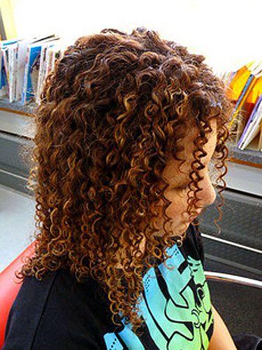 Long Hair Tight Curls Spiral Perm Spiral Perm Long Hair