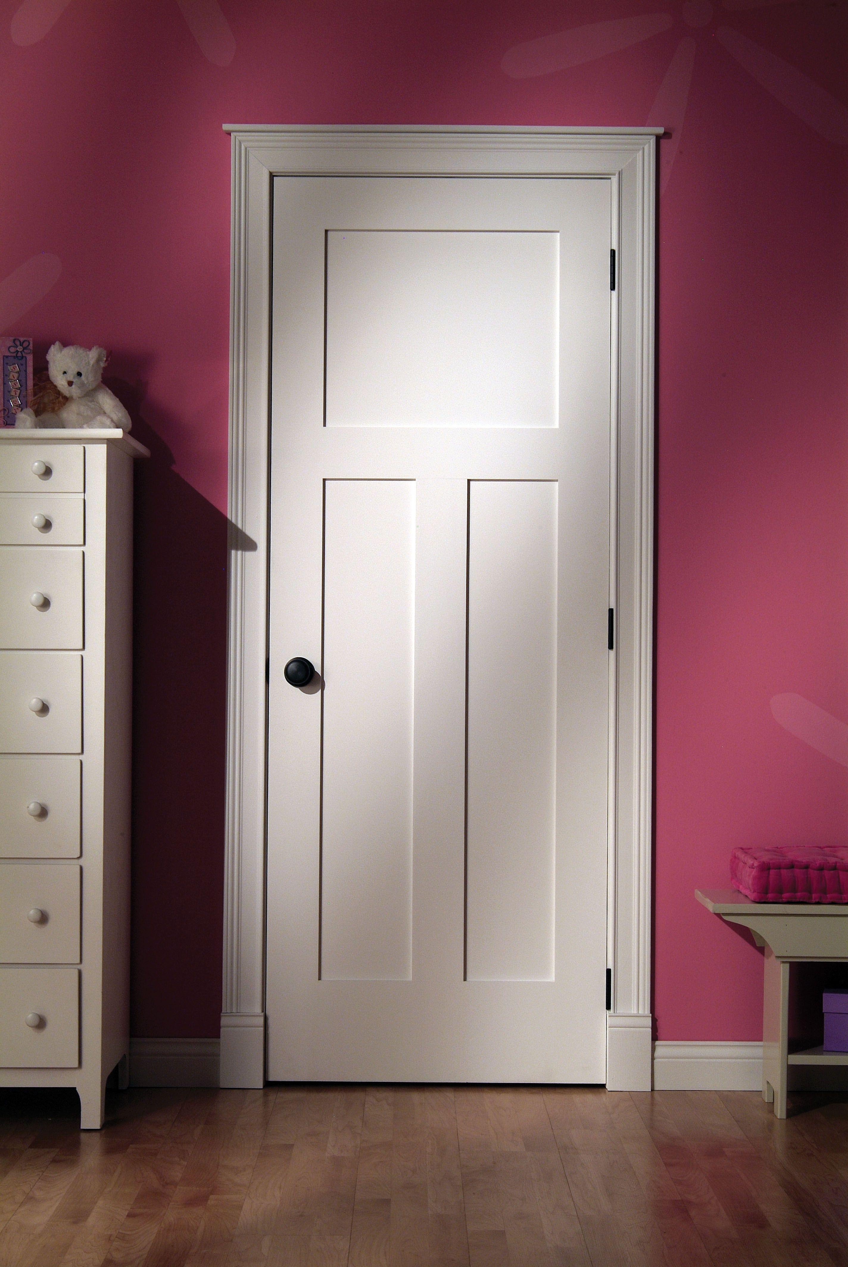 Interior Doors | Woodgrain Wood Door   Primed