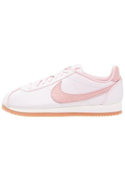 sale retailer 004e0 59fde womens-nude-nike-sportswear-classic-cortez-lux-trainers-pearl-pink-medium- brown-pink-glaze