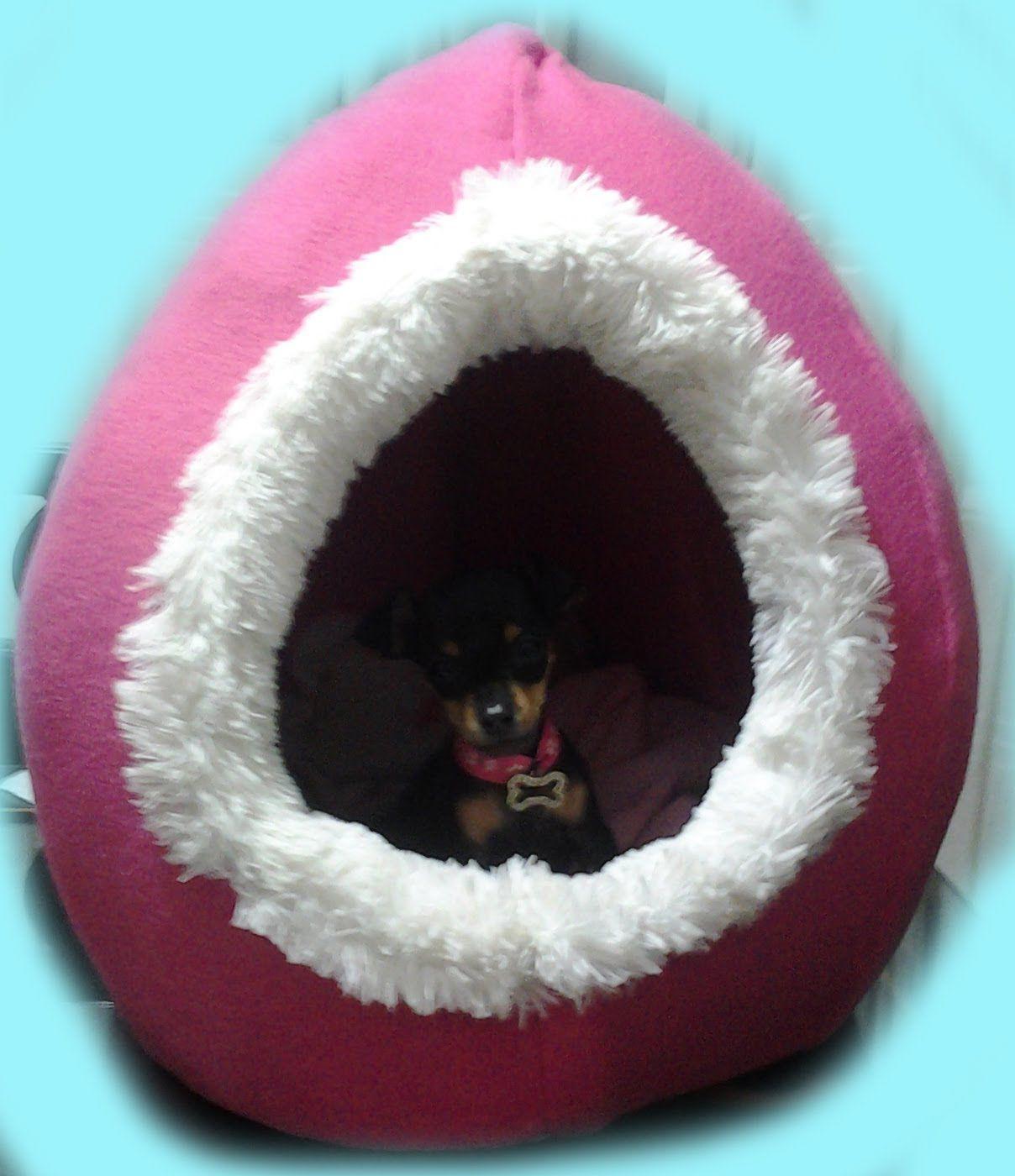 Como hacer una cama para perro o gato pattern here https - Como hacer una casa para perro grande ...