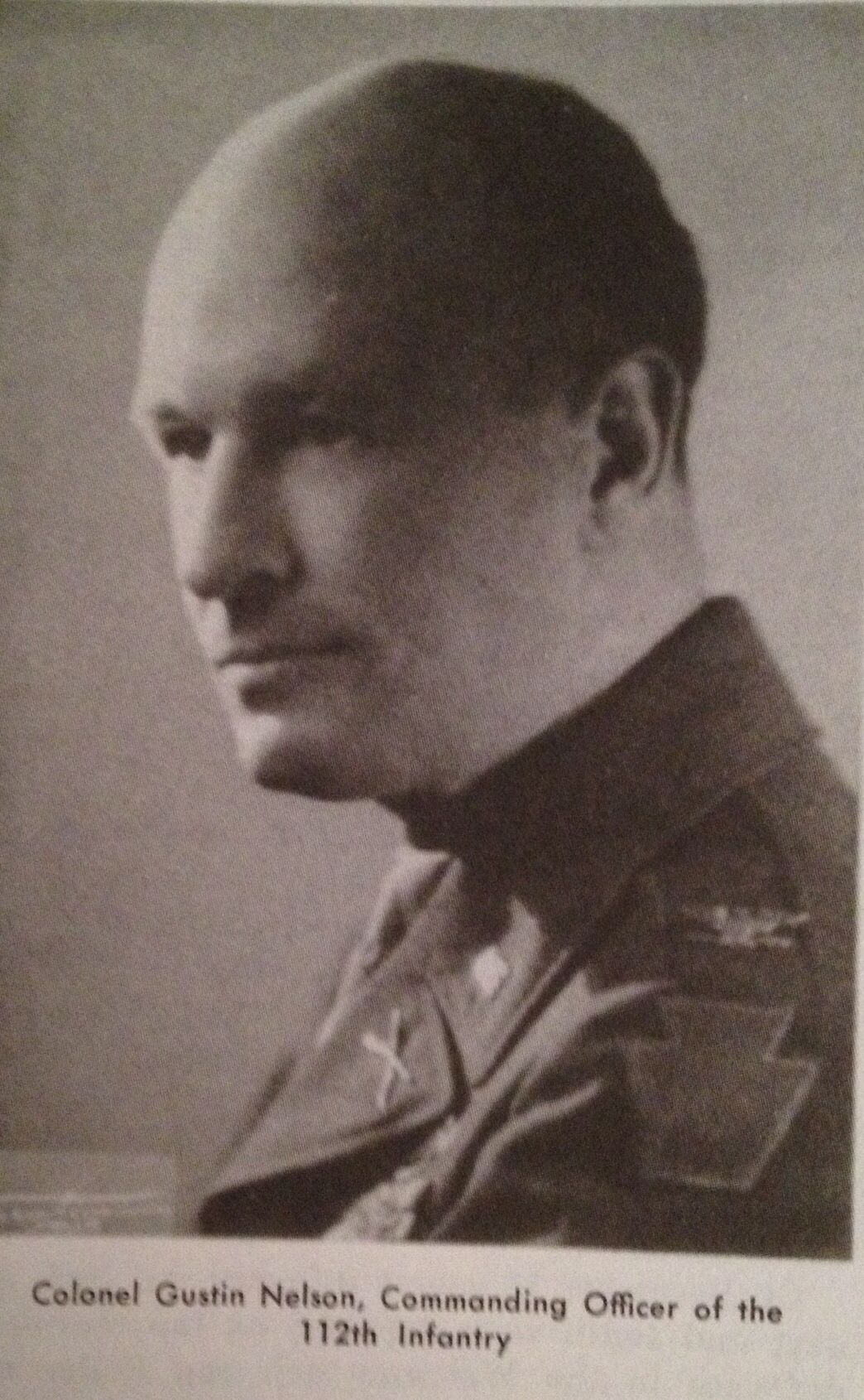Colonel Gustin Nelson - Commanded the 112th Infantry Regiment of the 28th Infantry Division