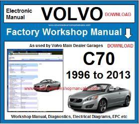 Volvo C70 Workshop Manual Wiring Diagrams Volvo C70 Volvo Repair Manuals