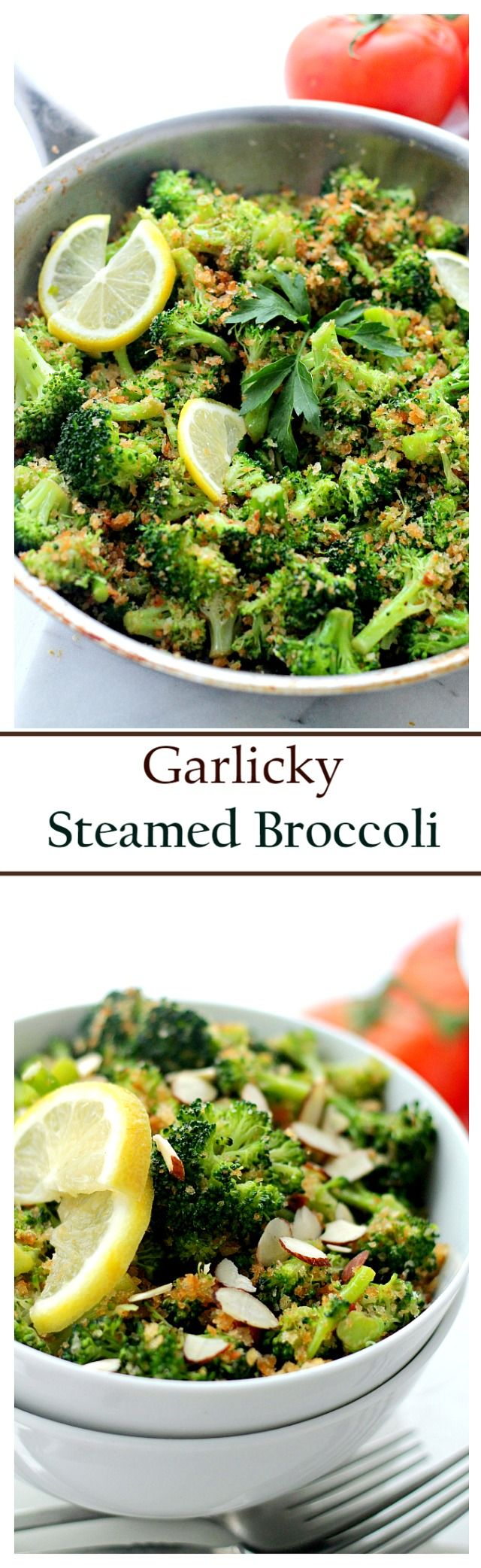 Garlicky Steamed Broccoli Www Diethood Com Make This Delicious And Healthy Side Dish Of Steamed Bro Broccoli Recipes Vegetable Dishes Vegetable Side Dishes