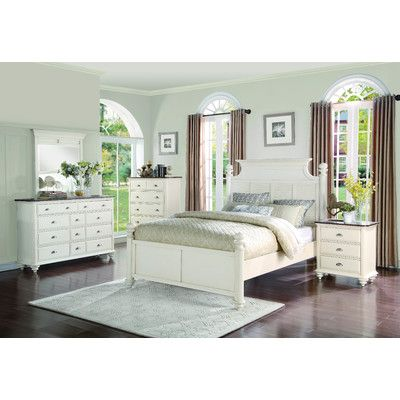 Beachcrest Home Hobe Sound Platform Bed Size Queen Products