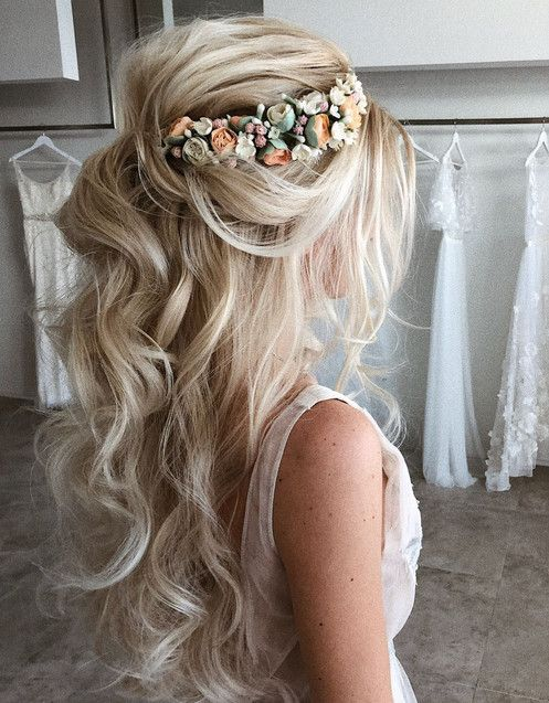 54 Elegant Wedding Hairstyle For The Most Beautiful Bride Page 6 Of 54 Lovein Home Hair Styles Long Hair Styles Wedding Hairstyles For Long Hair