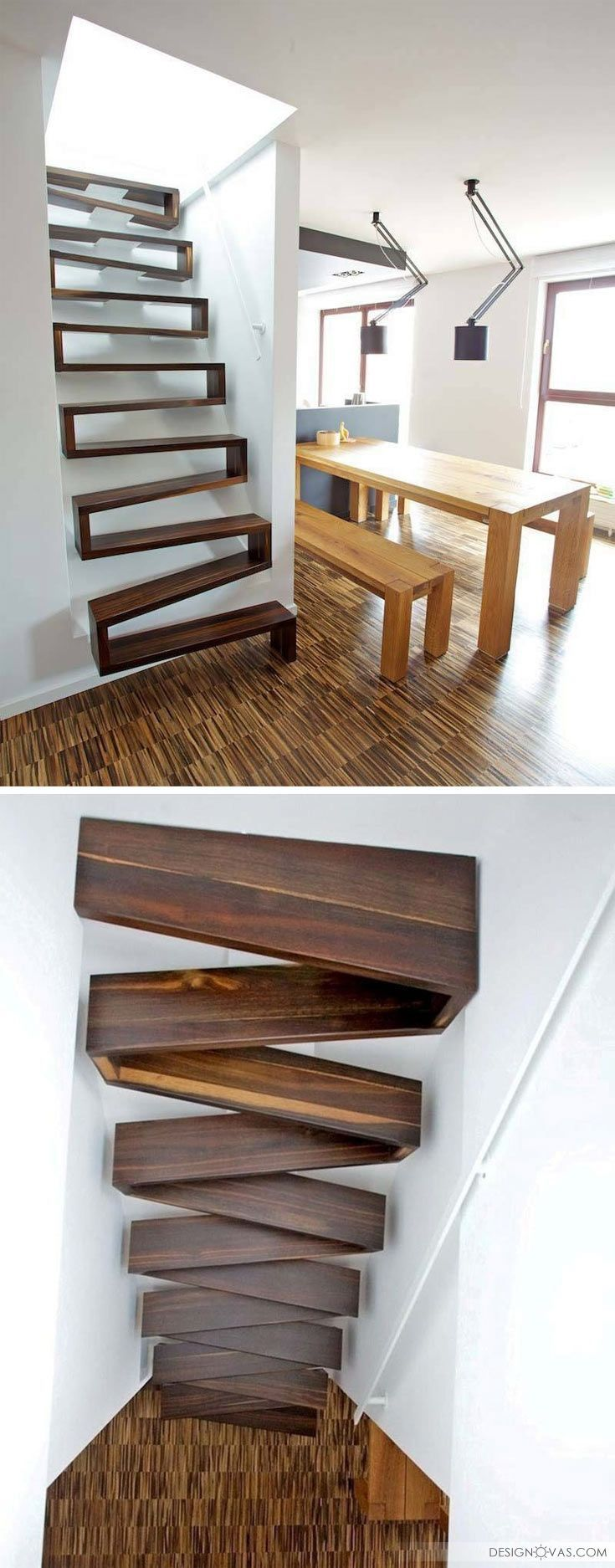 pingl par uberfil briano sur varios pinterest escalier design escaliers modernes et interieur. Black Bedroom Furniture Sets. Home Design Ideas