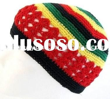 Crochet patterns Kufi Hats for Men | Crochet beanie kufi hat cap ...