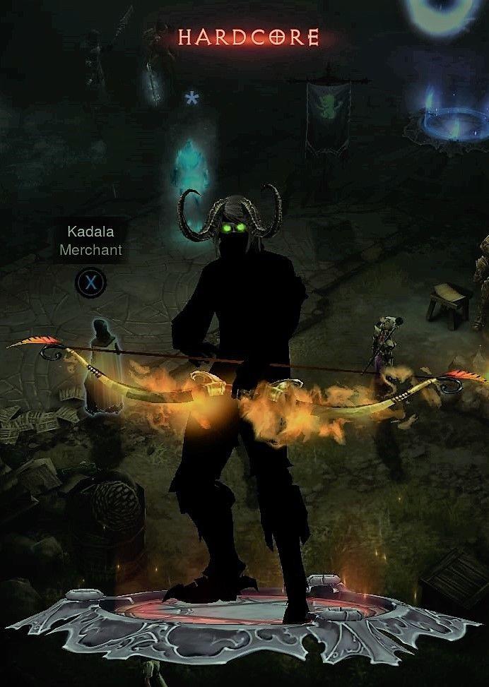 $5 - Diablo 3 Ps4 Hardcore Modded Demon Hunter Set