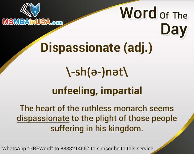 #WordofTheDay Via http://www.msmbainusa.com