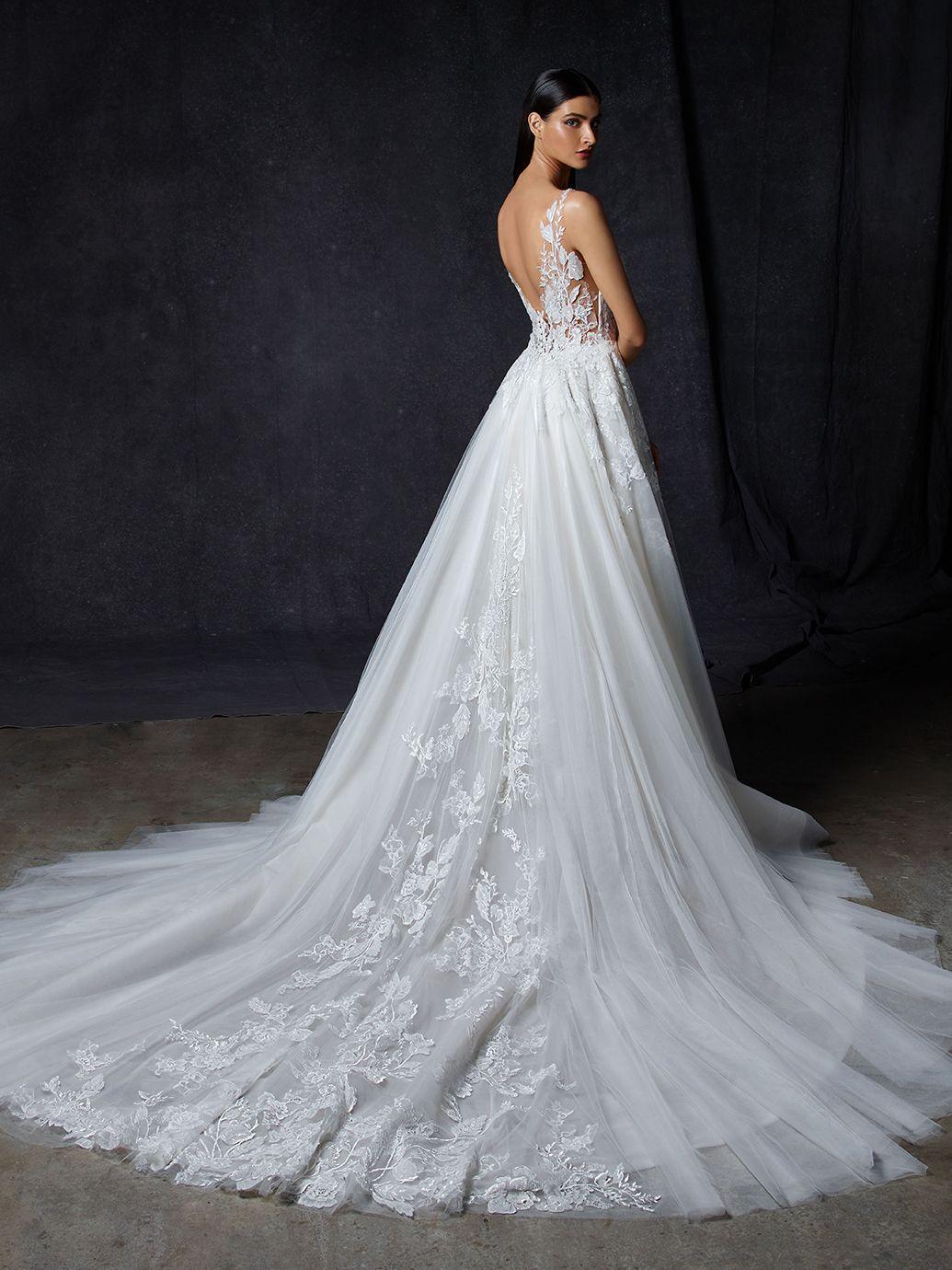Opus  Enzoani in 20  Elegant wedding dress, Wedding gown sizes