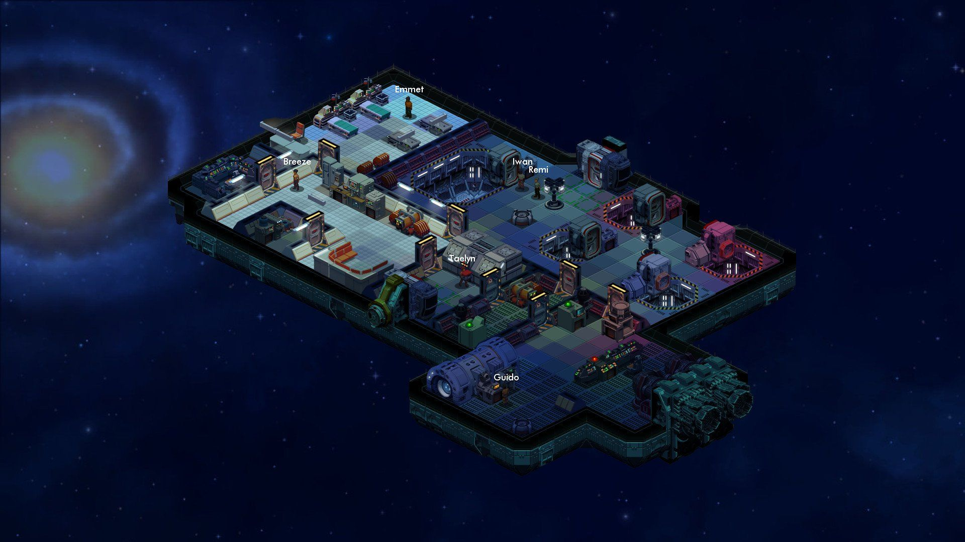 Survive the Void in Space Haven, Coming Soon