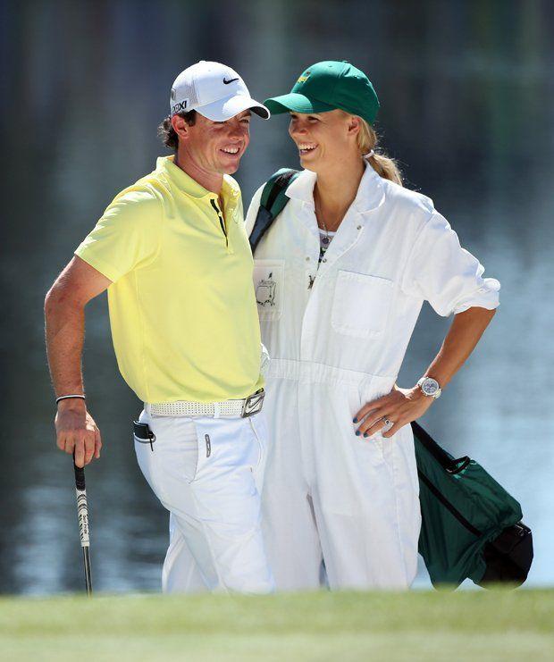 Mcilroy And Wozniacki Dawww Rory Mcilroy Golf Outfit Caroline Wozniacki