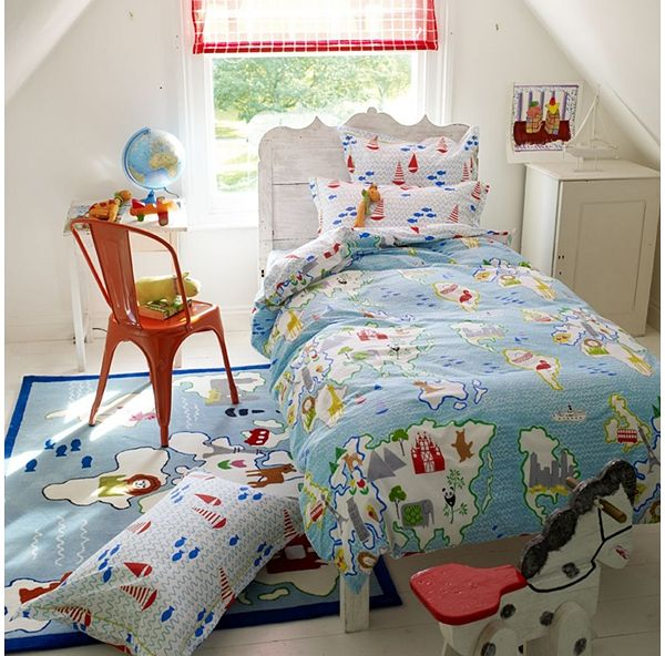 Cartography Designers Guild Home Decor Luxury Duvet Covers