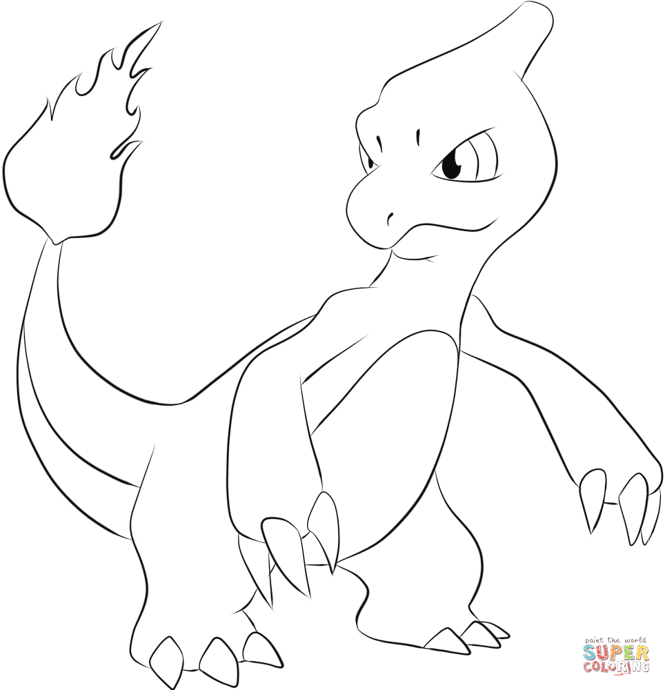 Charmander Coloring Pages | Pokemon | Pinterest