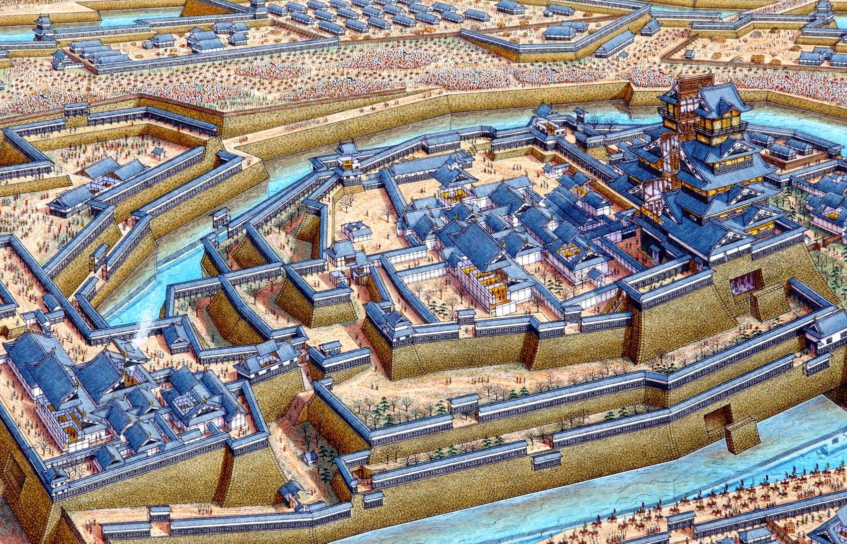 Siege of Osaka Castle | Castle painting, Osaka castle ... on map of medieval castles, map of japan, map of austrian castles, map of minoan crete, map of hong kong, map of belgian castles, map of german castles, map of kinkaku-ji, map of polish castles, map of hokkaido, map of bavarian castles, map of hakata, map of english castles, map of european castles, map of shanghai, map of buddhist temples, map of scottish castles, map of danish castles, map of irish castles,