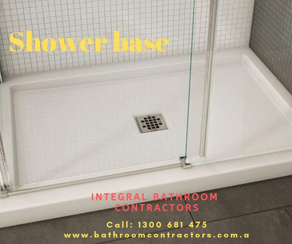 Shower Base Shower Base Bathroom Renovations Melbourne