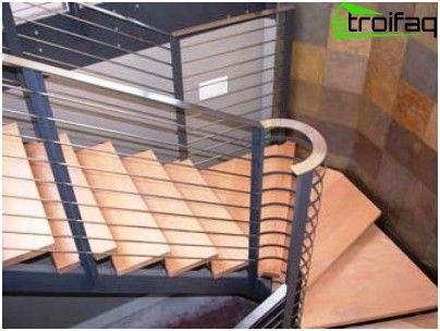 السلالم المعدنية أمثلة من التصميم والتكنولوجيا التركيب Wooden Stairs Staircase Design Wooden Staircases