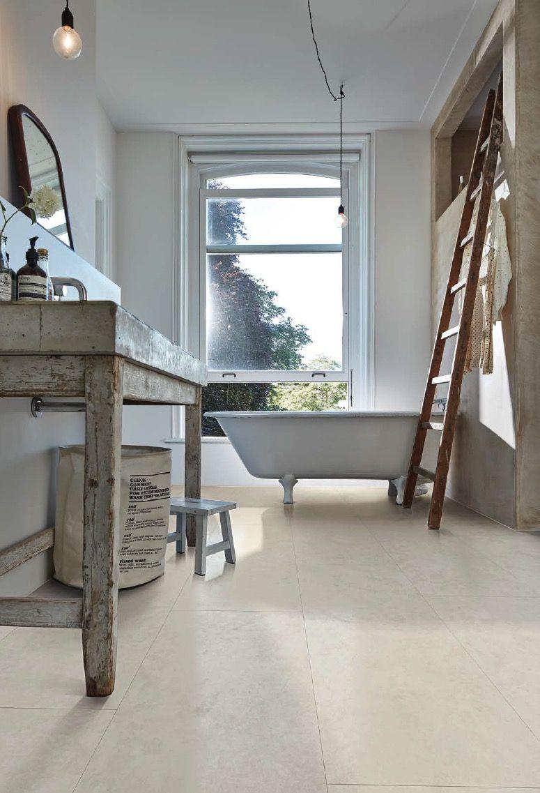 Designboden Im Badezimmer Wasserfest Wohnen Design Vinylboden