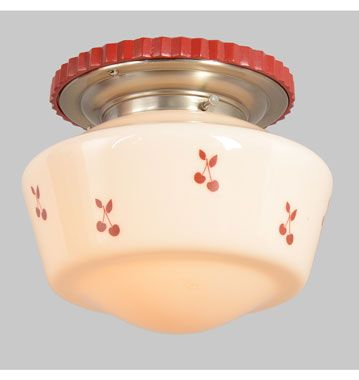 Rejuvenation PDX Salvage The Cutest Of The Cute A Vintage Kitchen - Retro kitchen ceiling lights