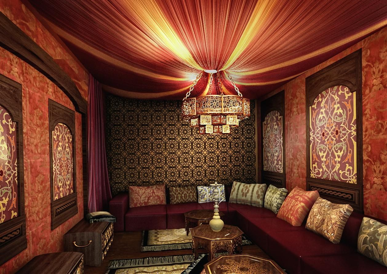Middle Eastern Bedroom Decor