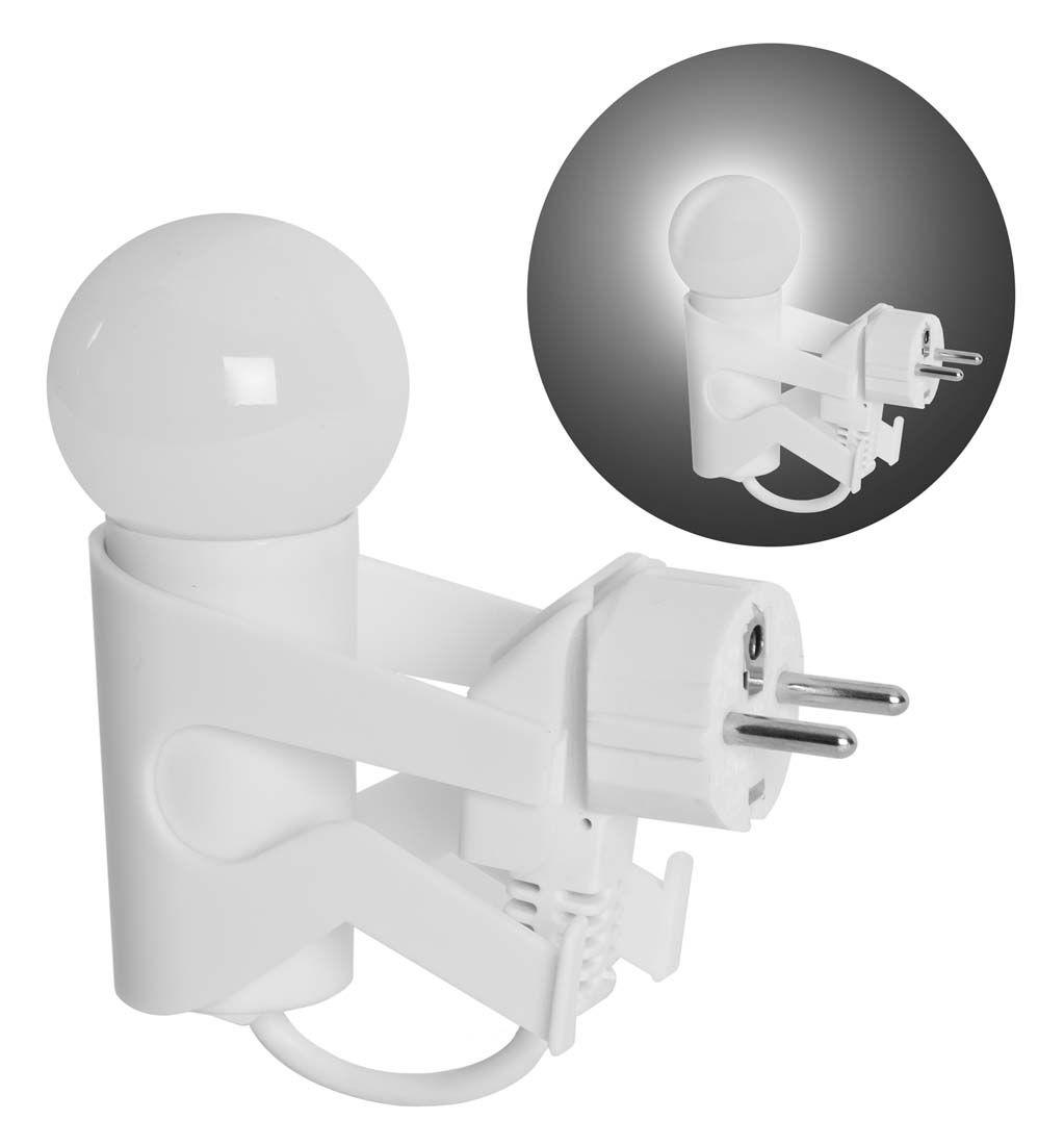 Quitamiedos Mini Man. Lámpara infantil con luz led, puede estar encendida toda la noche, funciona de forma automática gracias a un sensor de oscuridad.