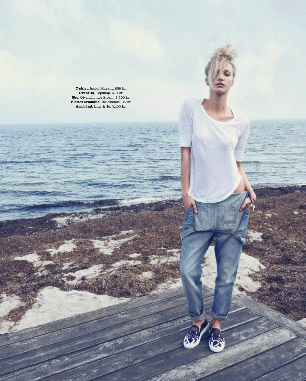 shore thing: theres alexandersson by olivia frølich for elle denmark july 2013