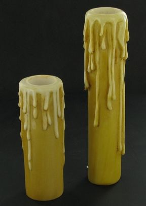 Chandelier Parts Candle Sleeves | ... RESIN DRIP CANDELABRA SOCKET ...