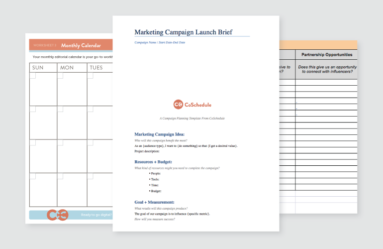 the marketing campaign planning checklist that will get