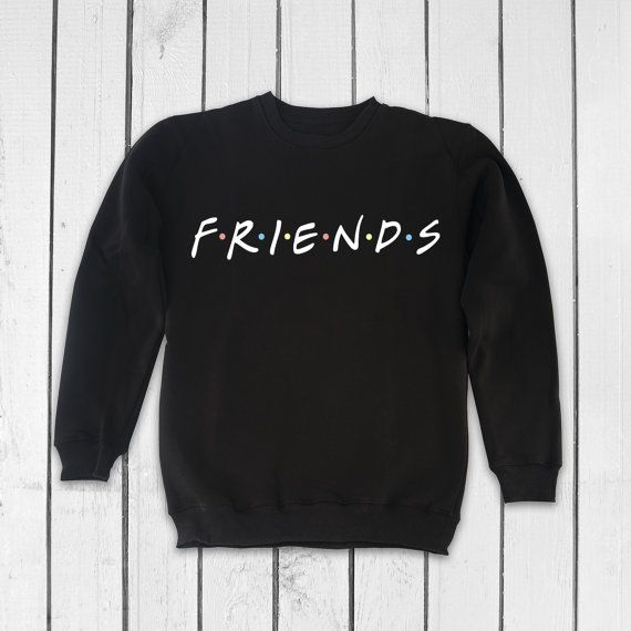 738325c6964 Friends TV Show Clothing Friends TV Show Sweatshirt Friends TV Show Sweater  Friends tv Series Pullov in 2019