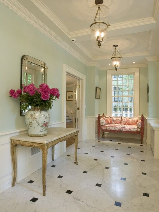 Elegant Foyer Colors : Traditional hall design pictures remodel decor and