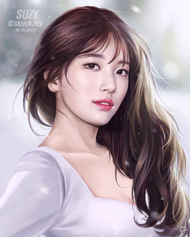 beautiful suzy miss a in painting