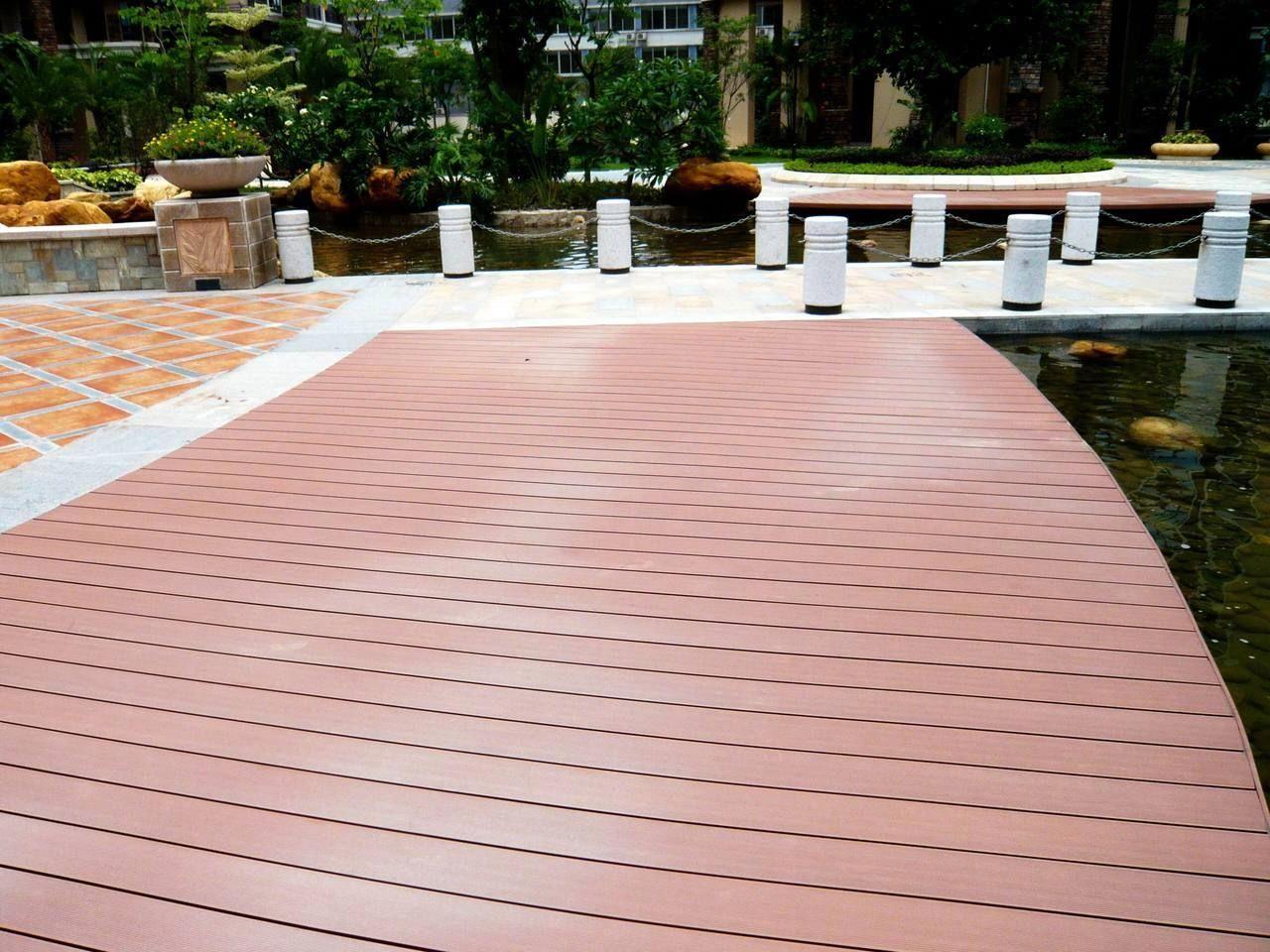 Truly Waterproff Flooring 20 Foot Cedar Deck Boards Plastic Decking Very Slippery Building A Deck Deck Diy Deck