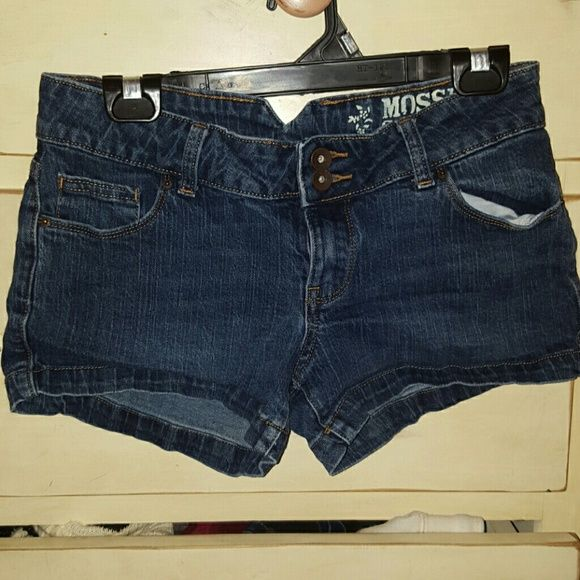Summer Jean shorts Super fun and cute Jean shorts. It's a size 7 in juniors, but fits well on a woman's 4. Mossimo Supply Co. Shorts Jean Shorts