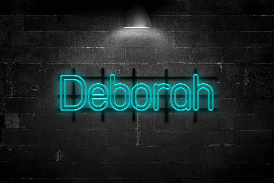 Blue neon text effect in 2020 Neon, Text effects, Blue