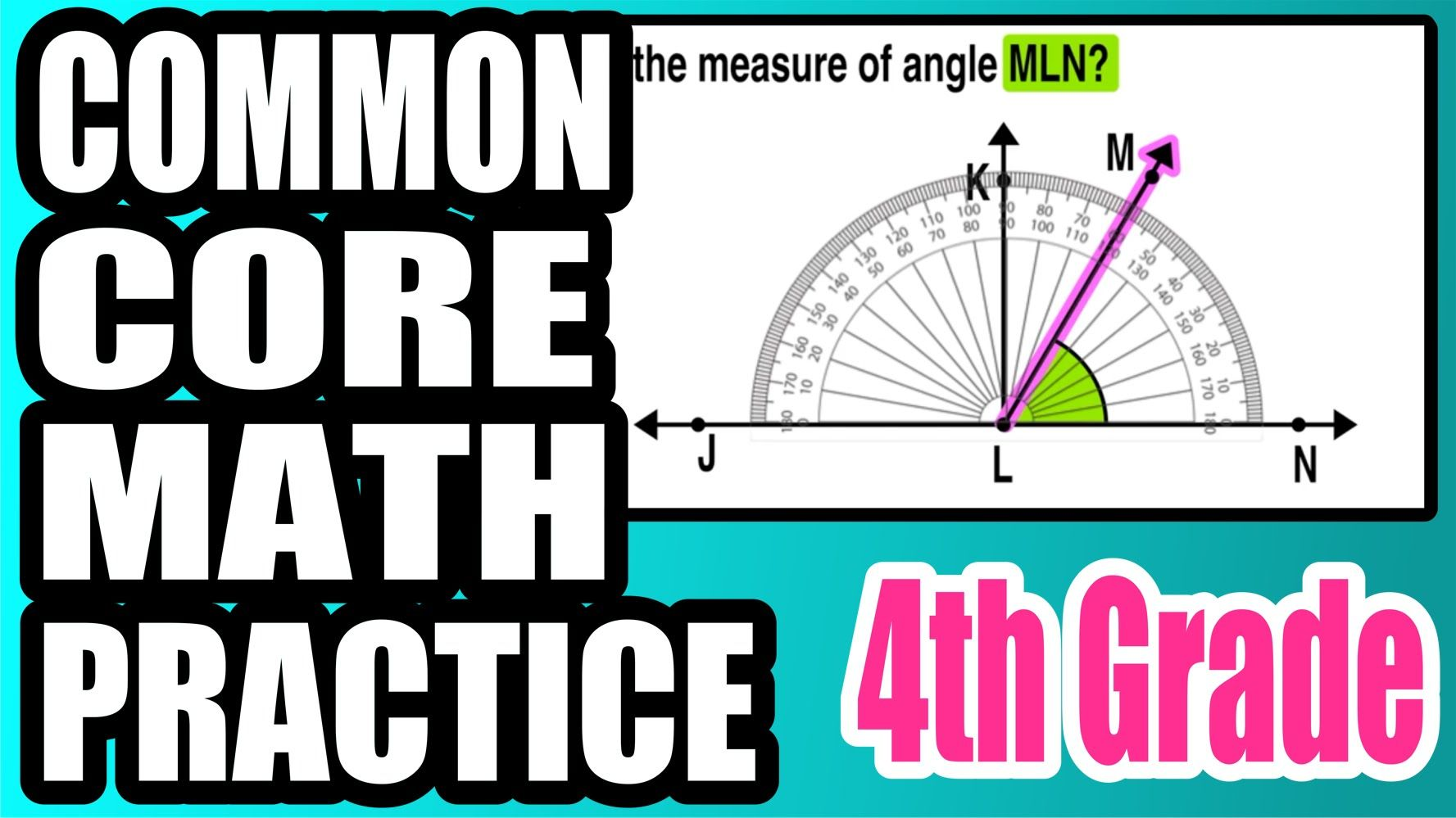 How Do I Measure An Angle Using A Protractor