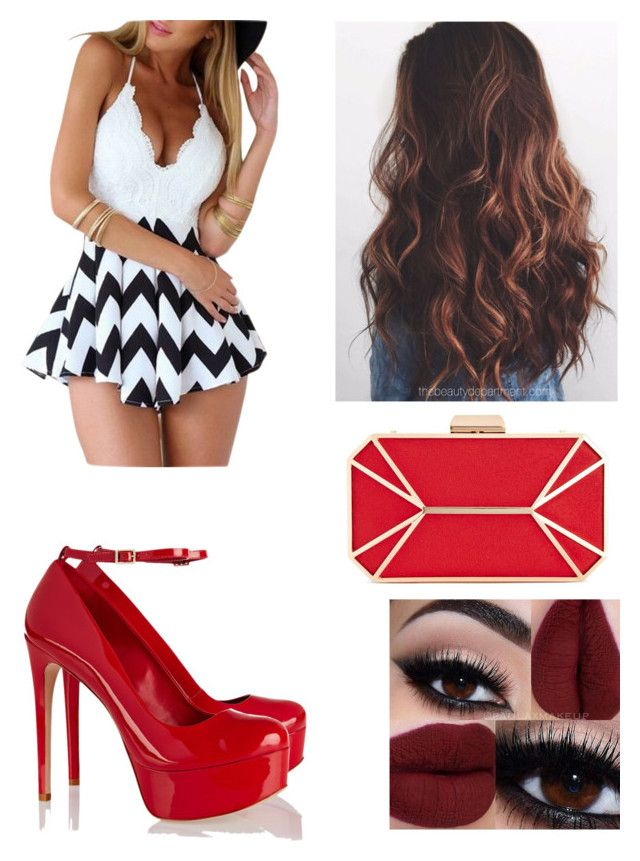 """Untitled #230"" by vanessaporkchop on Polyvore featuring Chicnova Fashion, Schutz and INC International Concepts"